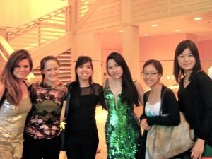 Meeting Sarah Chang