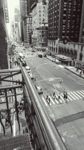 View from Carnegie Hall, NYC